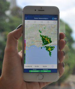 Imagens do Radar em tempo real